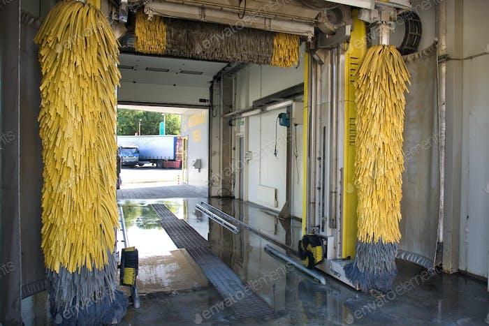 Car Wash Interior
