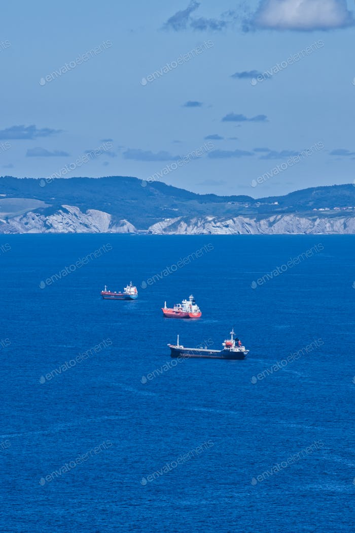 Boats on Sea, Spain