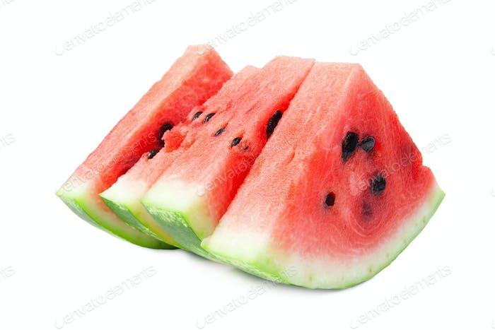 Scheiben von Wassermelone