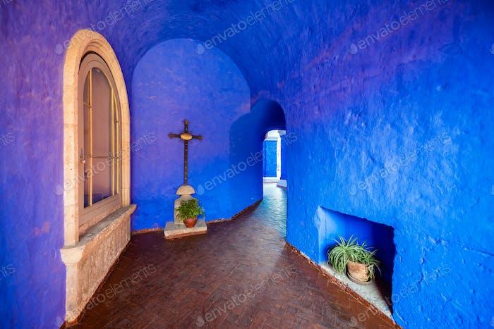 Blue Monastery Interior