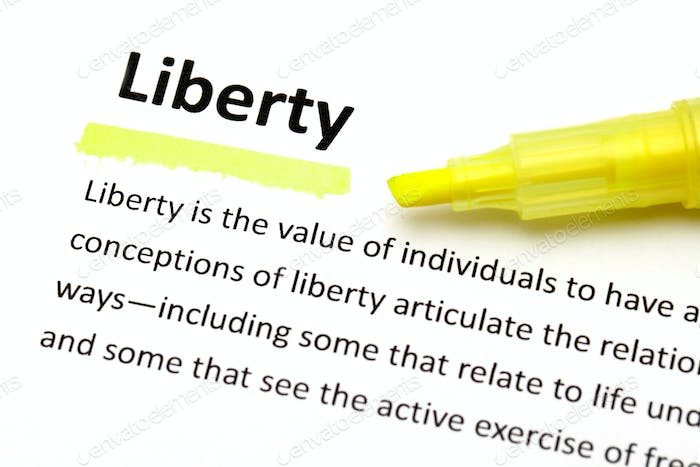 Definition of liberty