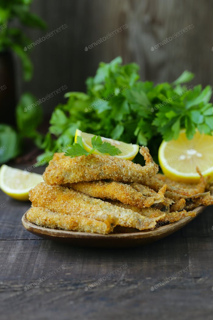 Fried Fish for Lunch
