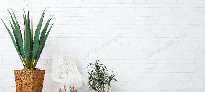 Minimalistic decor concept