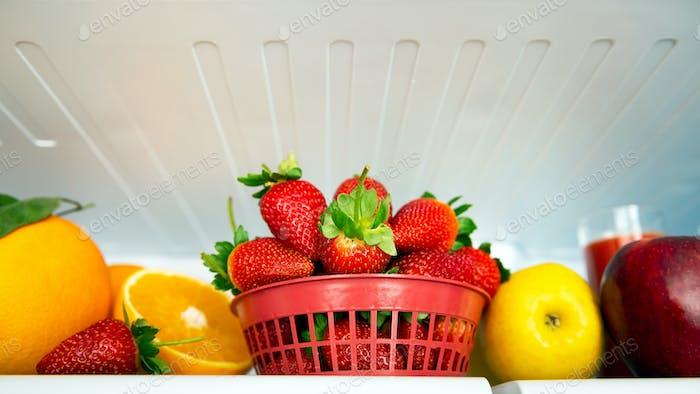 Fresh tasty fruits
