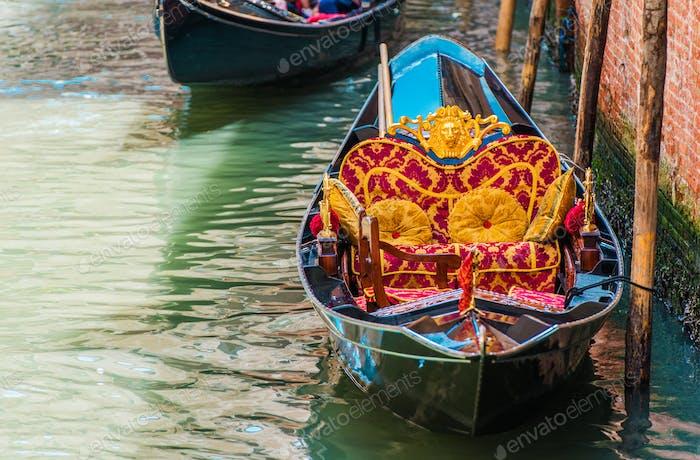 Classic Venetian Gondola