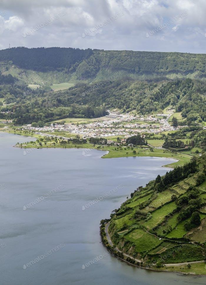 Lagoa das Sete Cidades on Sao Miguel Island