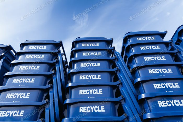 45633,Blue Recycle Bins
