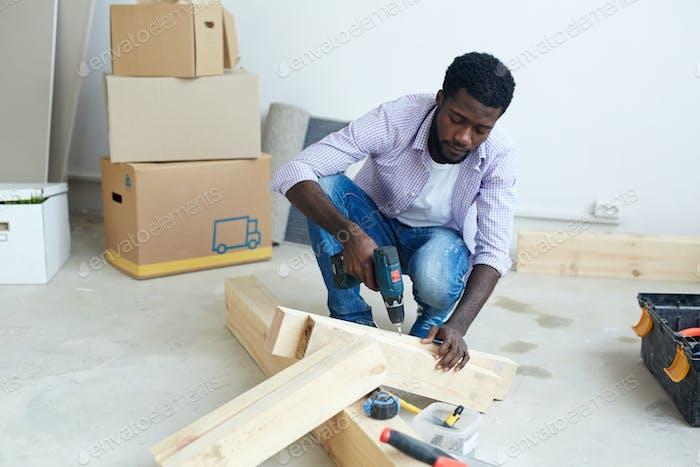 Drilling plank