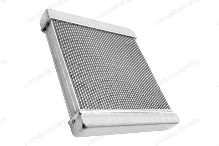 car radiator heater isolated on white background