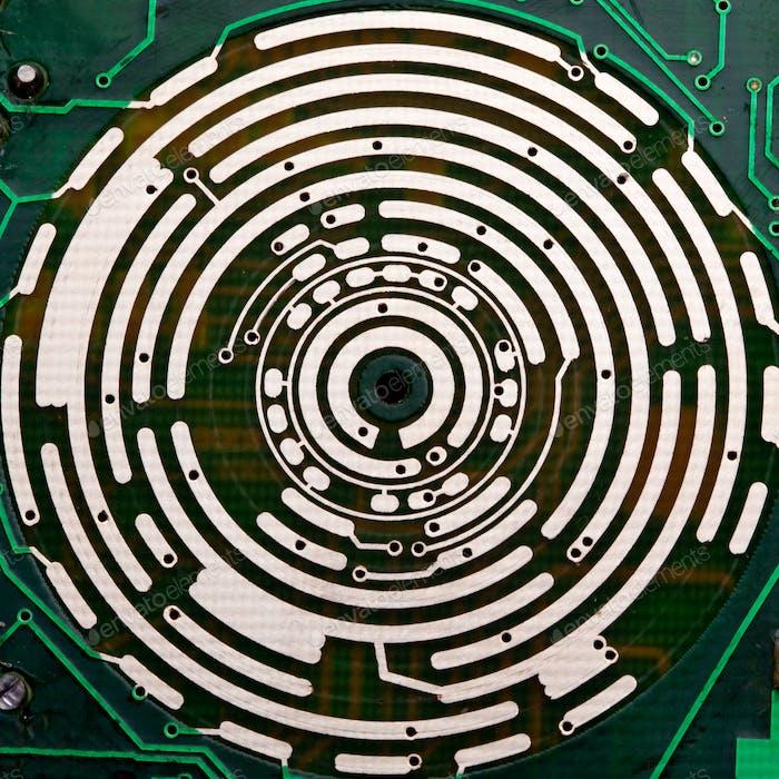 Computer-elektronisch Schaltung