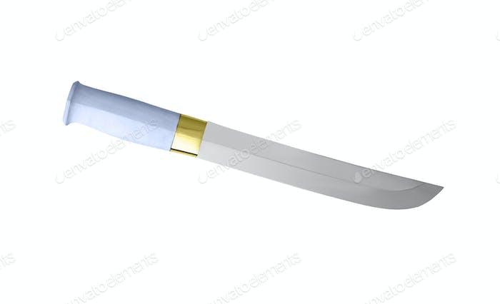 Messer auf weißem Hintergrund