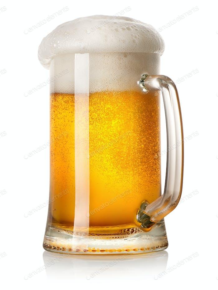 Tasse helles Bier