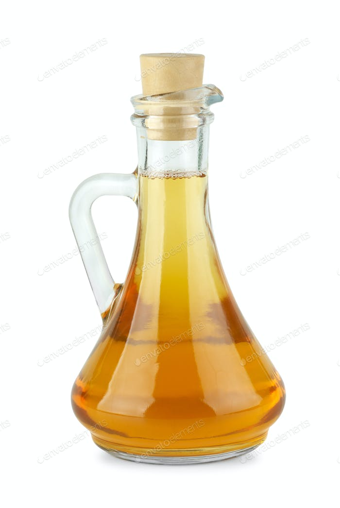 Decanter with apple vinegar