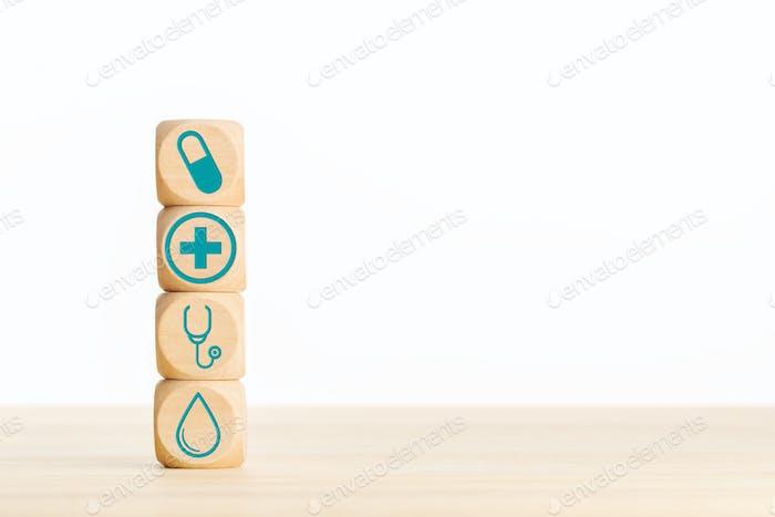 Health care or medicine concept