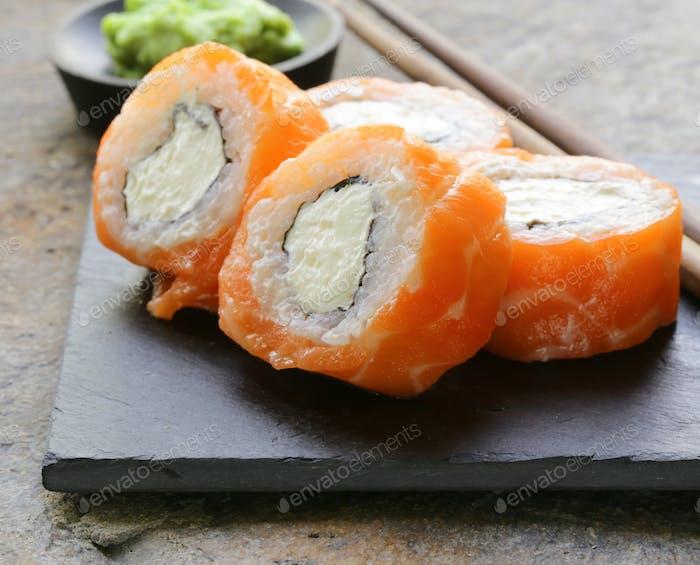 Philadelphia Rolls with Salmon