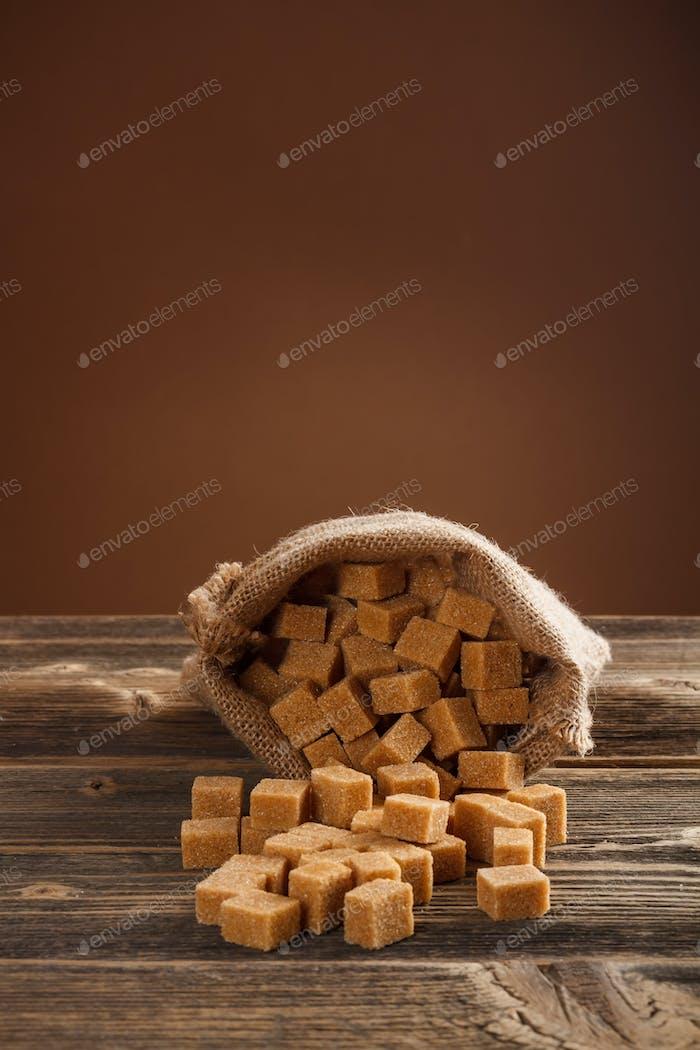 Azúcar en terrones
