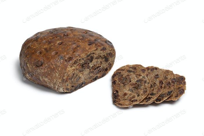 Kletzenbrot, rich fruit loaf from Austria