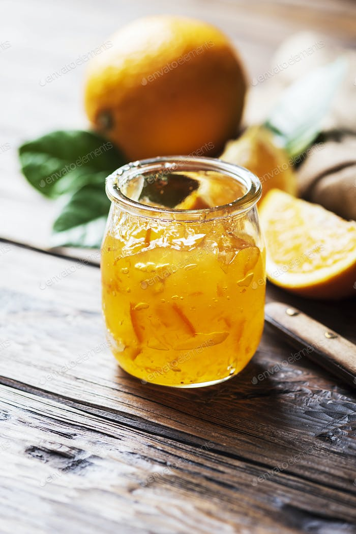 homamade orange marmelade