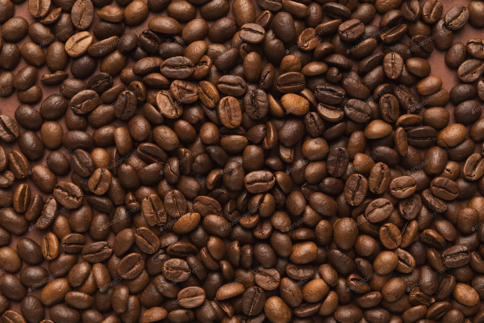 Closeup of coffee seeds, textured background photo by Prostock-studio on  Envato Elements