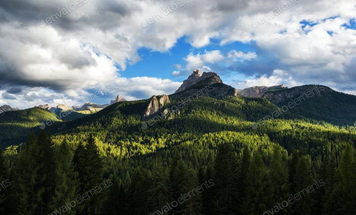 Sommer in den Dolomiten