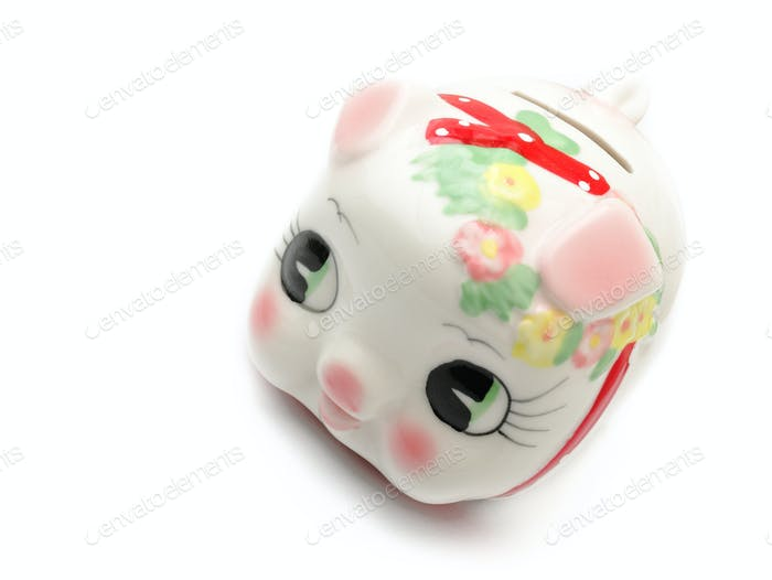 piggy bank in chinese style