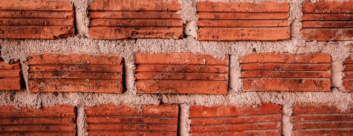 old red brick wall grunge background texture backdrop