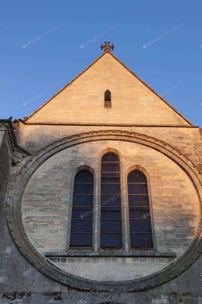 St Frambourg Collegiate in Senlis