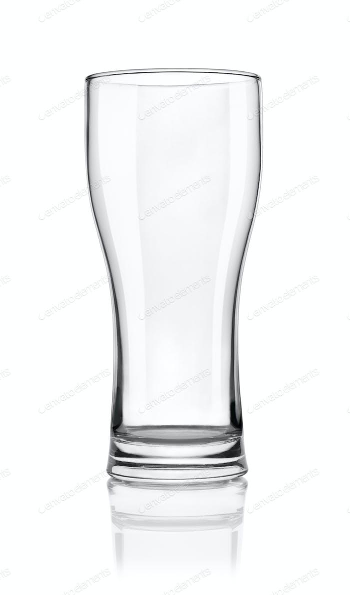 Пустой бокал пива