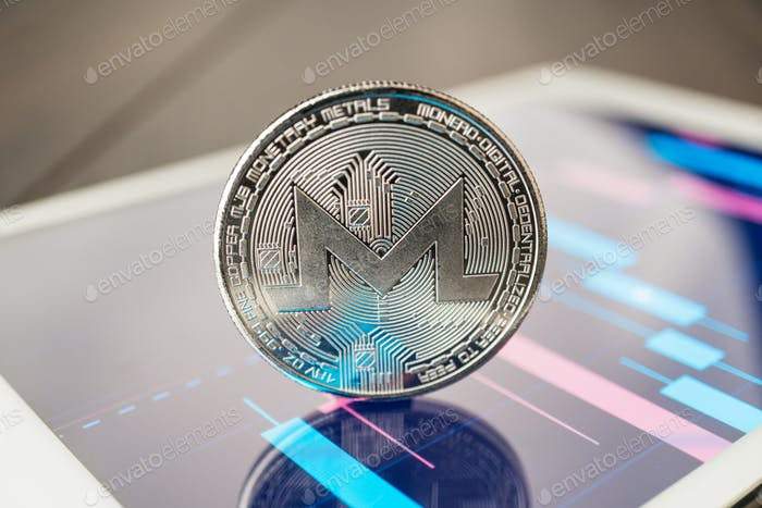 Monero Cryptocurrency On The Tablet