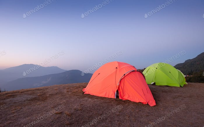 Tents for group camping
