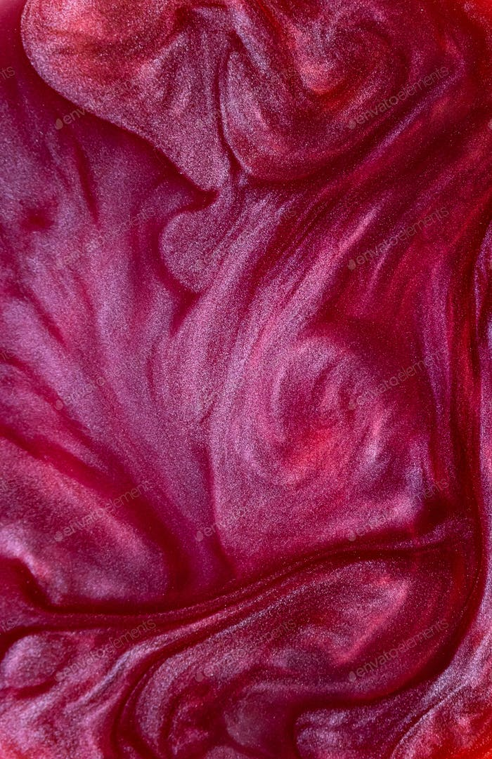 Fluid Design Backgrounds with Red and Purple Painting.