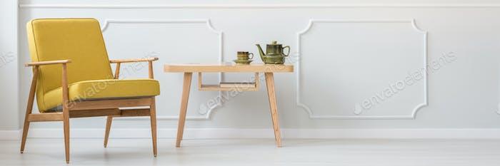 Table with mug