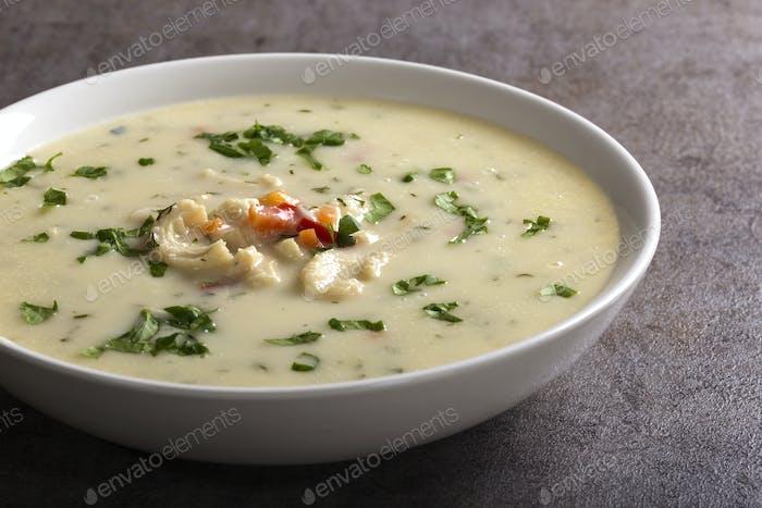 Romanian traditional soup
