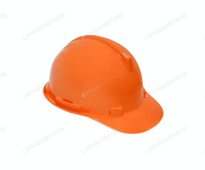 Construction Helmet isolated on white background