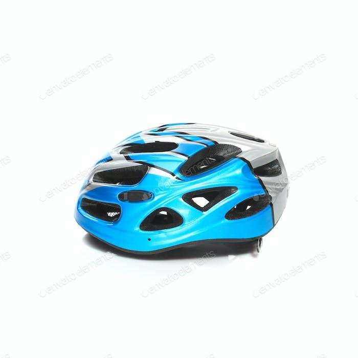 Fahrrad Mountainbike Sicherheit Helm isoliert