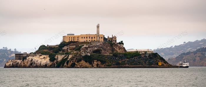 Fabled Alcatraz Island Old Federal Prison Turned Tourist Destination