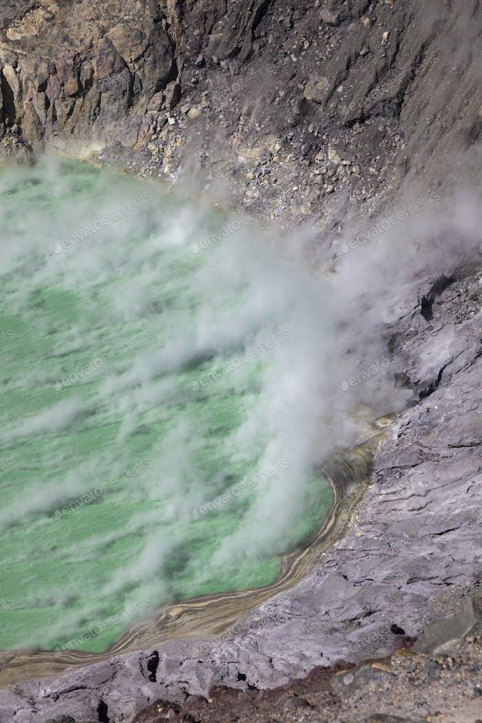 Laguna Ilamatepec im Vulkan Santa Ana