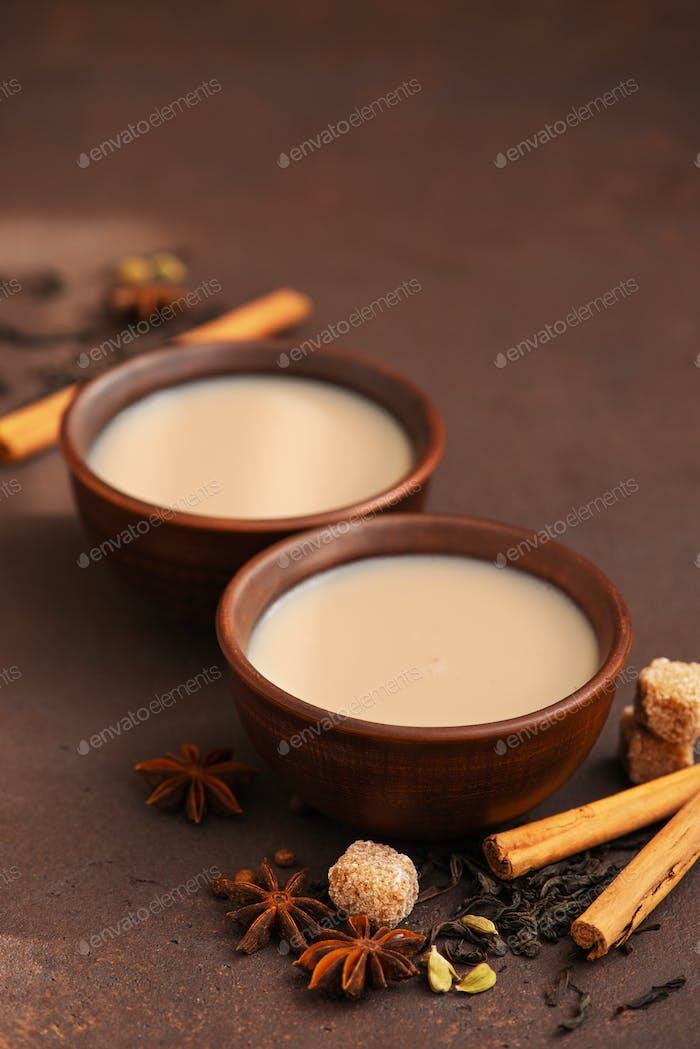 Two Cups of Masala Tea