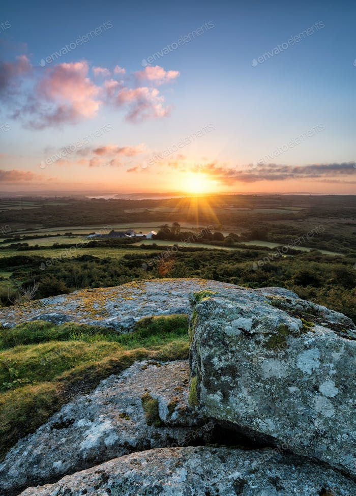Sunrise from Helman Tor
