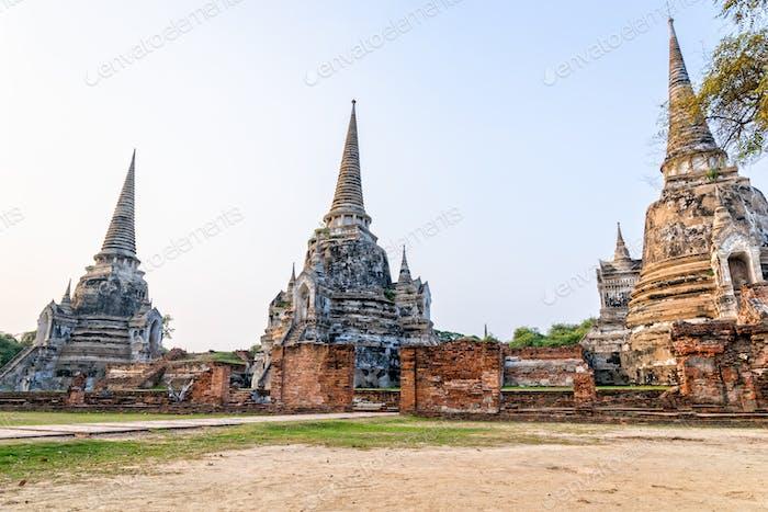 Wat Phra Si Sanphet, Thailand