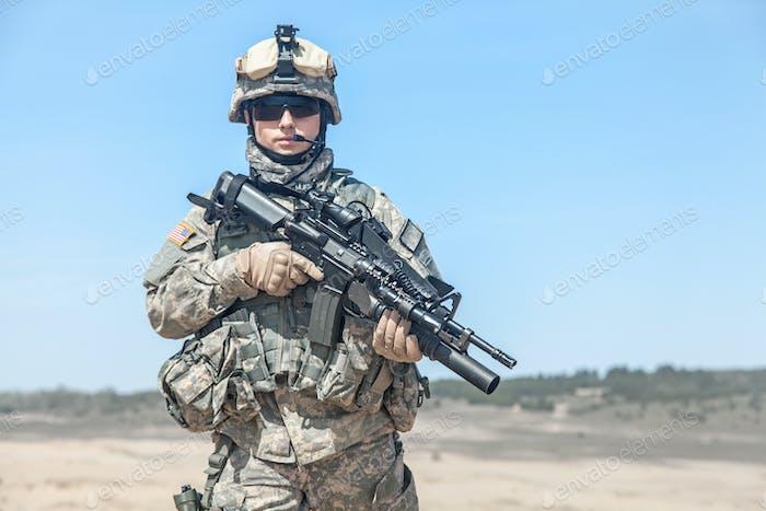 United states paratrooper airborne