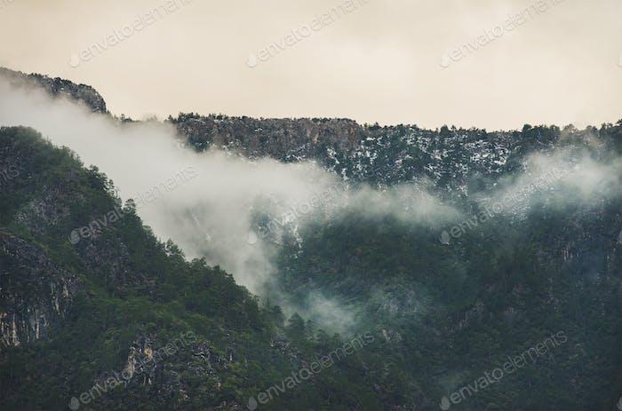 Green slopes of the Taurus mountains, Alanya, Turkey
