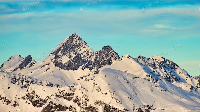 The mountain of Diavolo lace