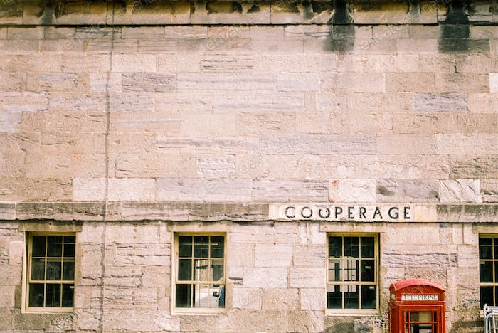 Cooperage and Red Phone Box