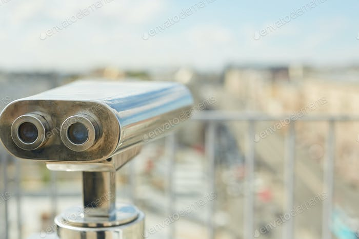 Coin Operated Binoculars at Viewing Platform