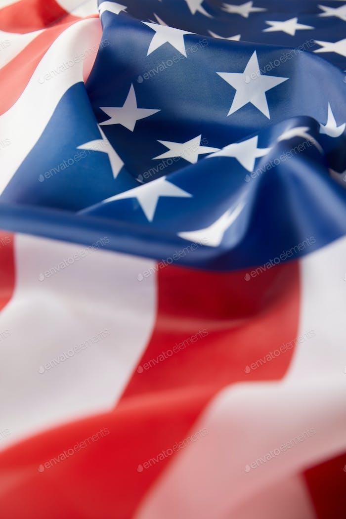 imagen completa de la bandera de los Estados Unidos de América