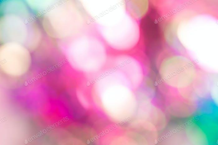 Abstract blur sequin dress color bokeh light