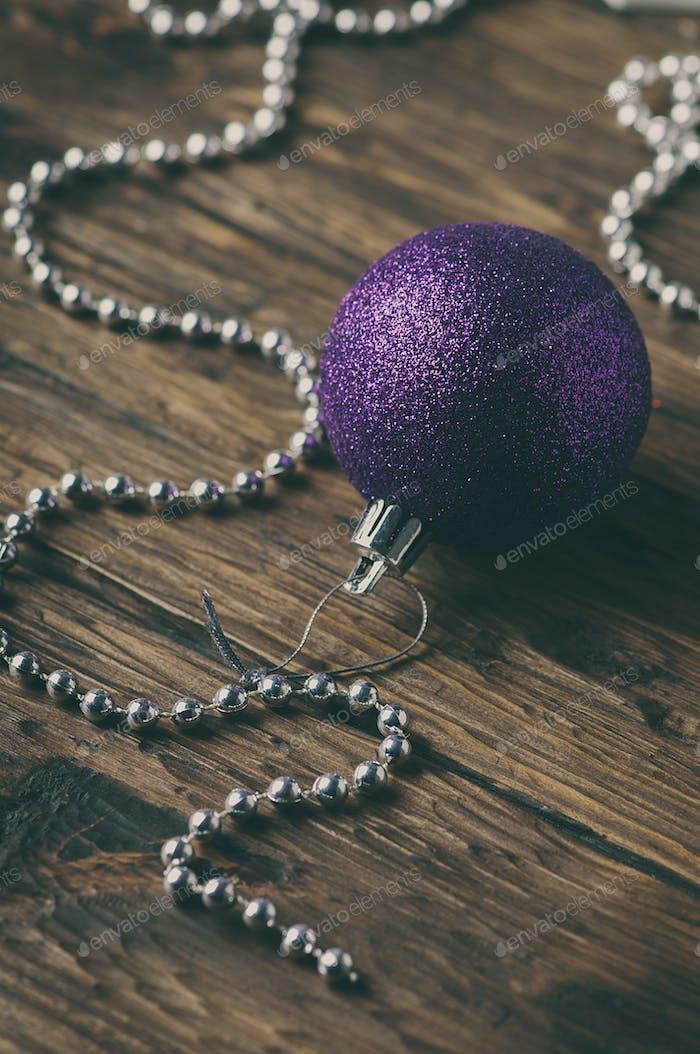 Christmas ornament with balls