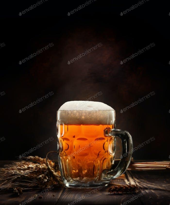 Bière en tasse