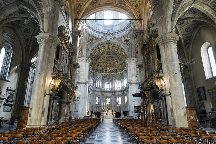 Como (Lombardy, Italy) cathedral interior